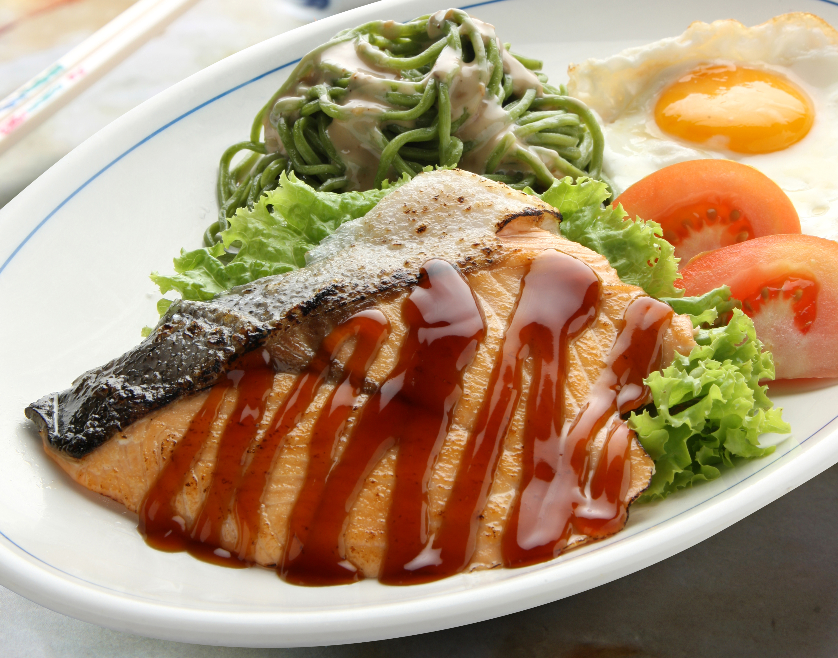 Xin Yue Salmon Fish Set