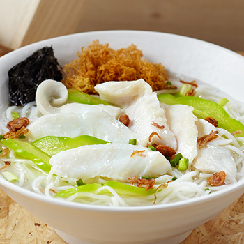 Chai_Bittergourd sliced fish bee hoon Soup