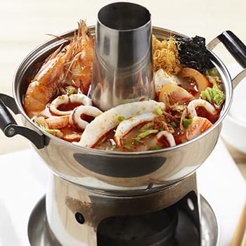 Chai's_Mini steamboat tom yam seafood soup