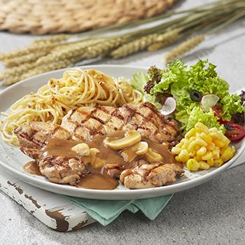 Chef_Mushroom Grill Chicken
