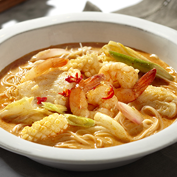 ET_Tom Yum Seafood Soup with Beehoon