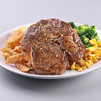Fire_Beef Ribeye Steak (Add Fries Rice Mash Potato)