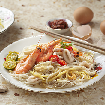 Hao_Fried Hokkien Prawn Noodle(S) add Prawn
