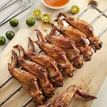 Huat_BBQ Chicken Wings (5pcs)