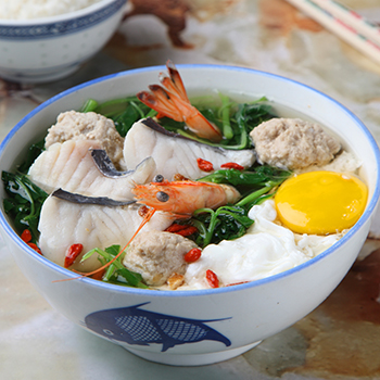 JY_Spinach Seafood Soup