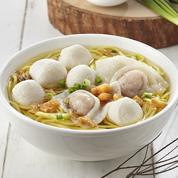 LX_Fishball + Fish Dumpling Noodle