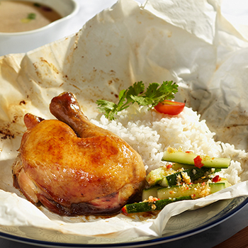 Lam_Salt Baked Chicken Thigh with Rice