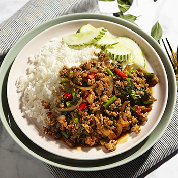MTE_Chicken pork basil leaf rice
