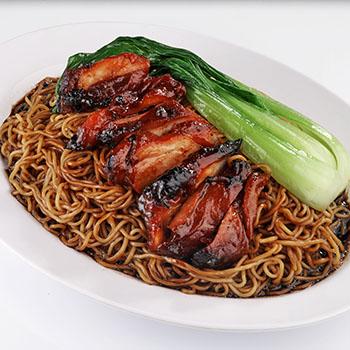 SCR_Honey glazed chicken noodle