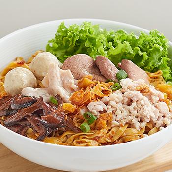 SK_Mushroom minced meat noodles