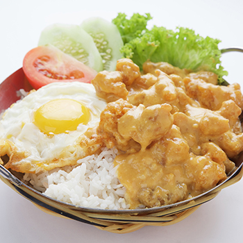 YF_Salted Egg chicken with rice