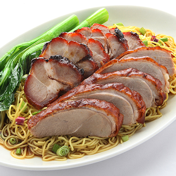 YM_Char siew & roast duck noodles